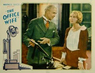 The Office Wife (1930) starring Dorothy Mackaill, Lewis Stone, Natalie Moorhead, Joan Blondell