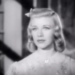 Ginger Rogers as the office worker on vacation in Having wonderful time