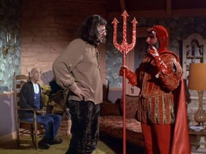John Astin has a Devil of a time in Hell's Bells