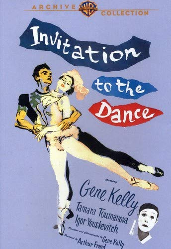 Invitation to the Dance (1956) starring Gene Kelly