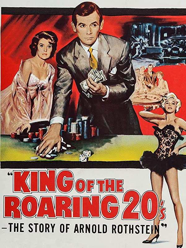 King of the Roaring Twenties (1961) starring David Janssen, Mickey Rooney, Dianne Foster