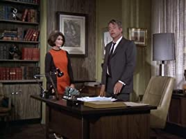 Diane Baker and William Windom in the Night Gallery episode, They're Tearing Down Tim Riley's Bar
