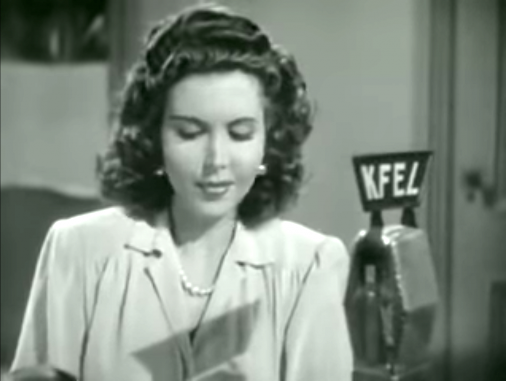 Ann Miller as the title character in Reveille with Beverly