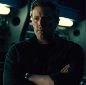 Ben Afleck as The Batman in Justice League