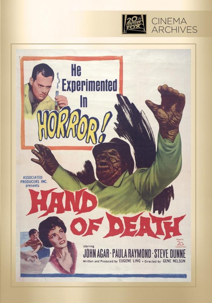Hand of Death (1962) starring John Agar, Paula Raymond