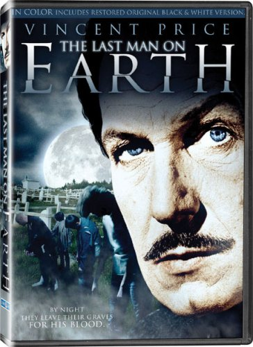 The Last Man on Earth (1964), starring Vincent Price