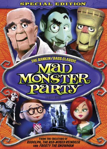 Mad Monster Party (1967) starring Boris Karloff, Phyllis Diller