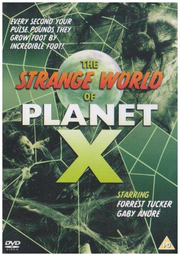 The Strange World of Planet X (1958) starring Forrest Tucker, Gaby Andre, Martin Benson
