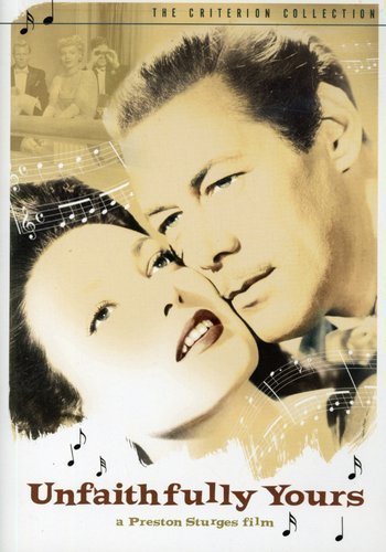 Unfaithfully Yours (1948) starring Rex Harrison, Linda Darnell