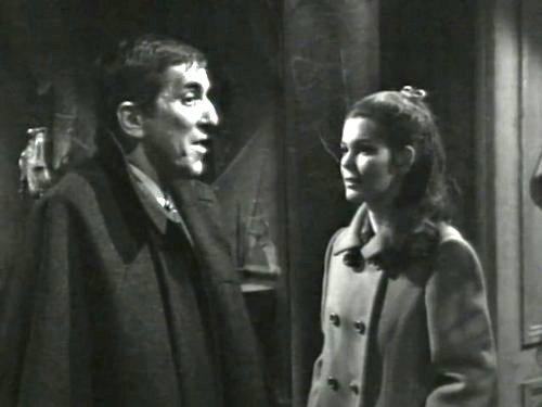 Dark Shadows episode 214 - Barnabus Collins talking with Victoria Winters