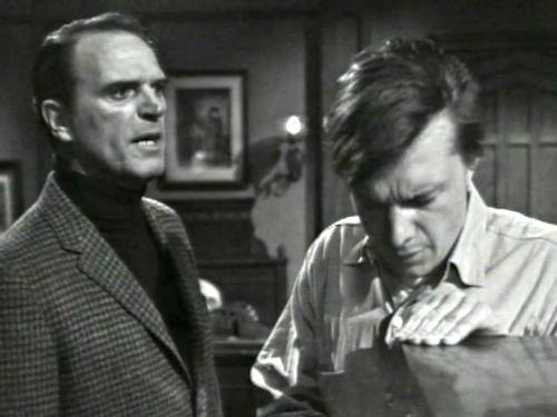 Dark Shadows episode 220 - Jason McGuire talking with Willie Loomis