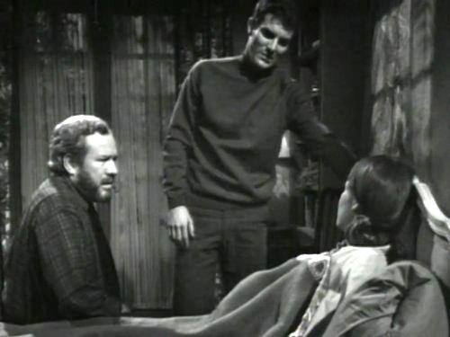 Dark Shadows season 2 episode 231 - Sam Evans, Burke Devlin, Maggie Evans