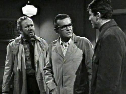 Dark Shadows season 2 episode 236 - Sam Evans, Dr. Woodward, Burke Devlin