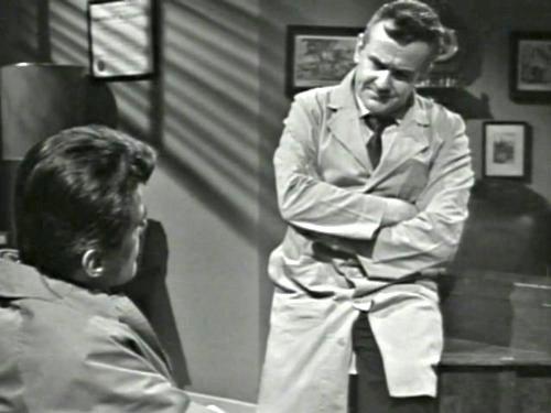Dark Shadows season 2 episode 242 - Burke Devlin and Dr. Woodward