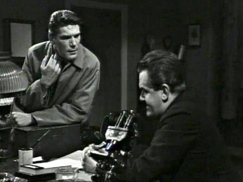 Dark Shadows season 2 episode 245 -Burke Devlin and Dr. Woodward