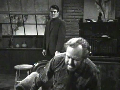 Dark Shadows season 2 episode 247 - Burke Devlin and Sam Evans