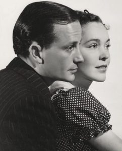 Frank Lawton and Maureen O'Sullivan in The Devil Doll