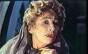 Martita Hunt as Baroness Meinster, having been turned into a vampire by her own son.