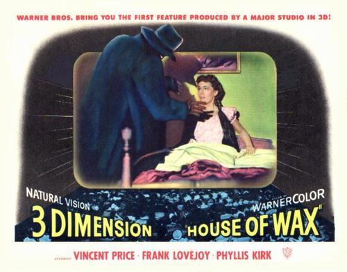 Warner Bros. bring you the first feature produced by a major studio in 3D!  House of Wax
