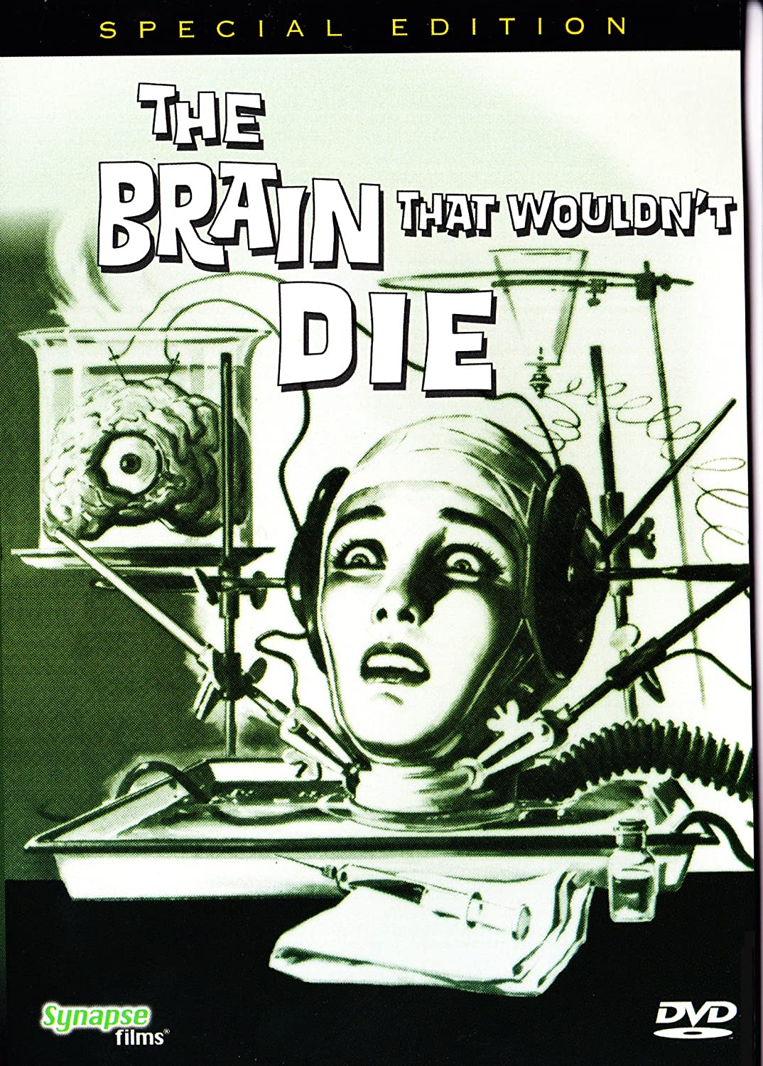 The Brain That Wouldn't Die (1962) starring Herb Evers, Virginia Leith