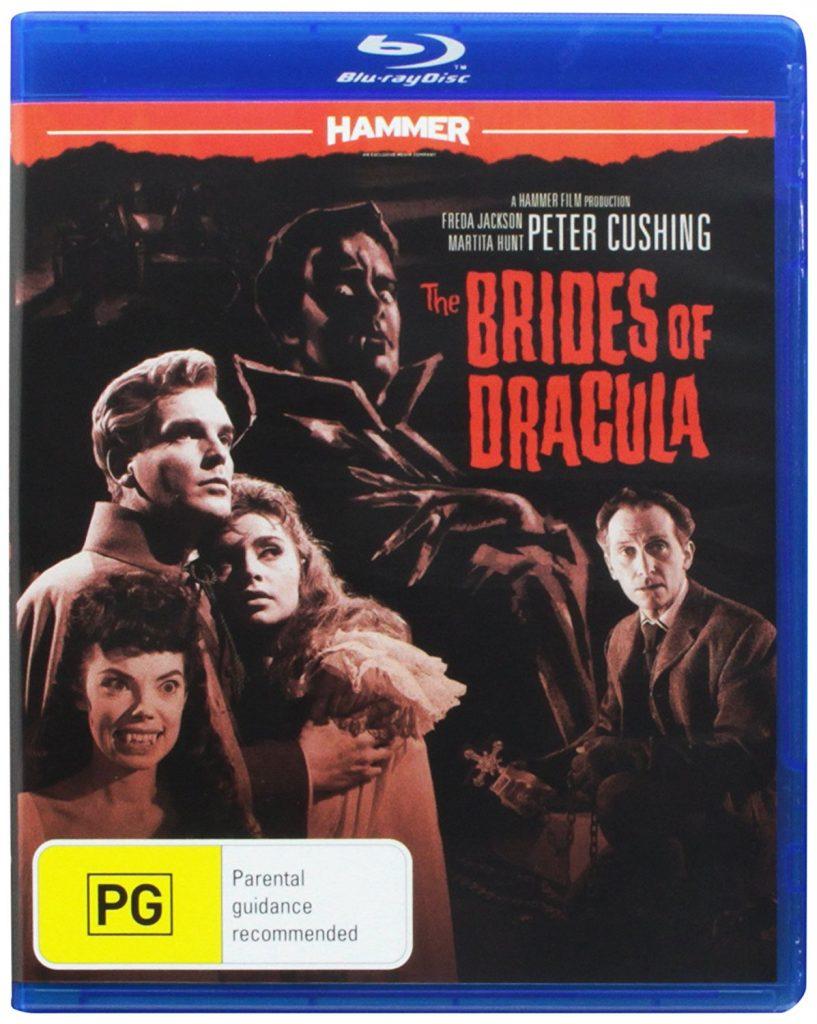 The Brides of Dracula (1960) starring Peter Cushing, David Peel, Martita Hunt, Yvonne Monlaur