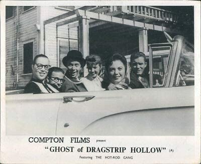 Ghost of DRAGSTRIP Hollow Original Lobby Card HOT Rod Gang Jody FAIR Russ Bender