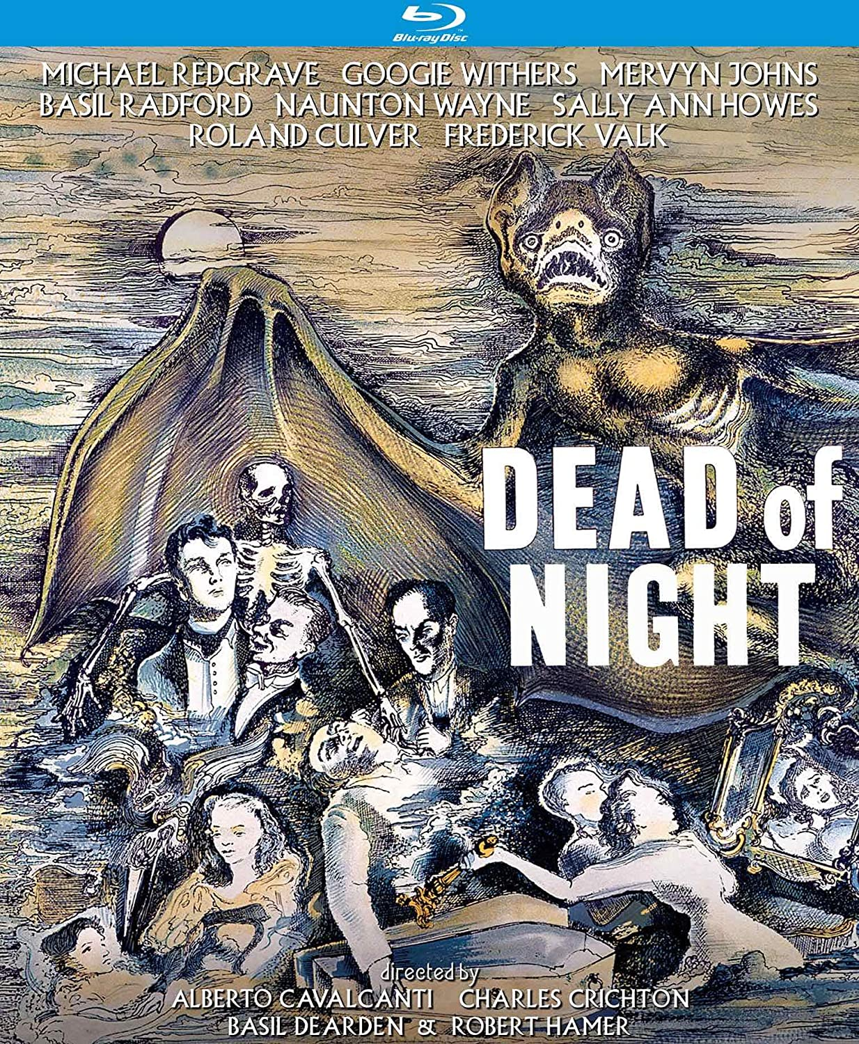 Dead of Night (1945) starring Mervyn Johns, Sally Ann Howes, Michael Redgrave