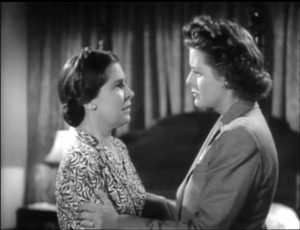 Fay Helm and Irene Harvey in Night Monster