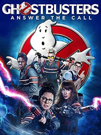 Ghostbusters (2016) starring Melissa McCarty, Kristen Wiig, Kate McKinnon, Leslie Jones, Chris Hemsworth