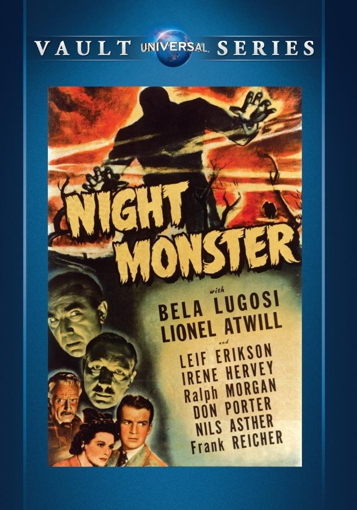 Night Monster, starring Ralph Morgan, Bela Lugosi, Lionel Atwill