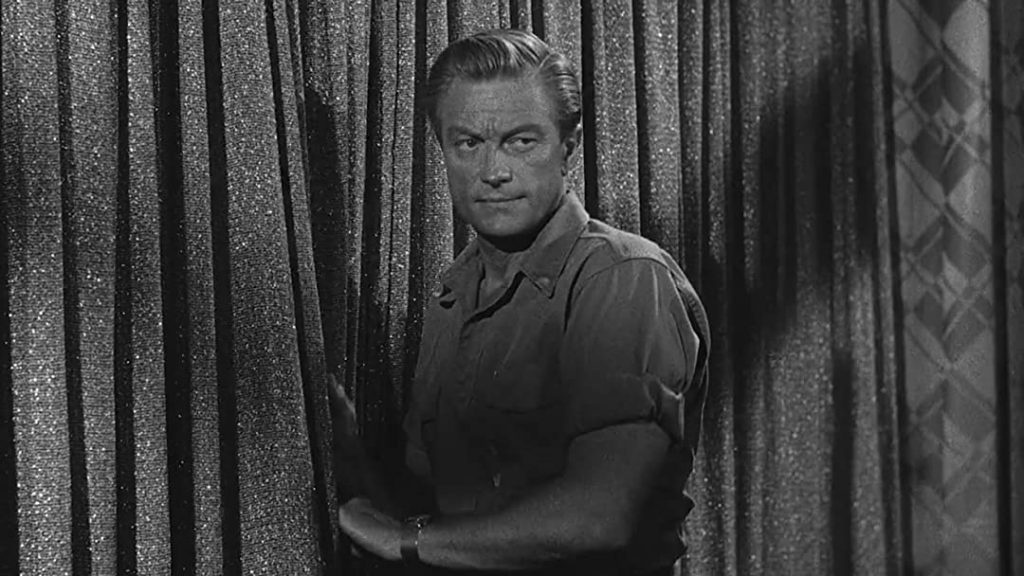 Richard Denning as Rick in Day the World Ended