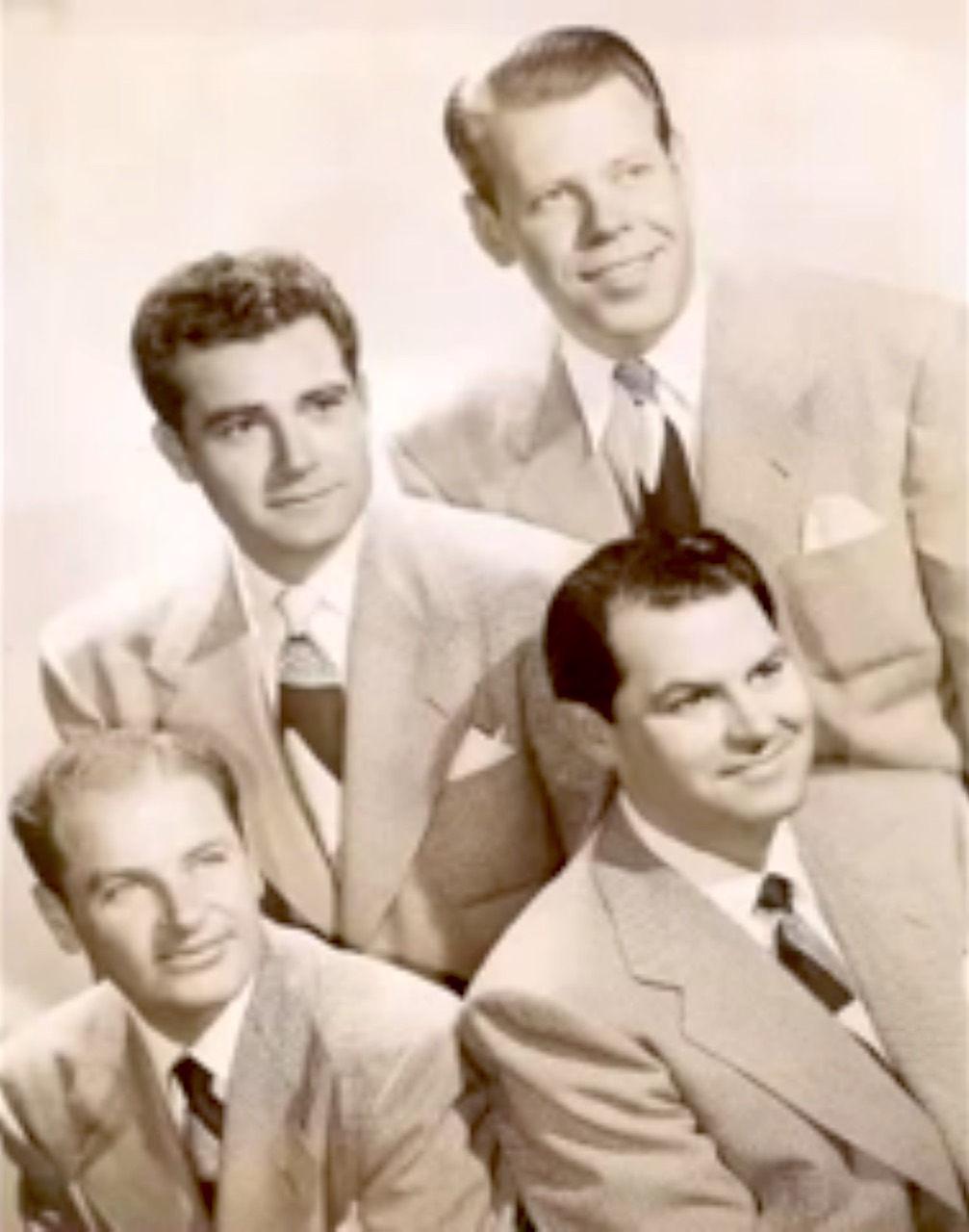 Song lyrics to Let's Do It Again, Music by Lester Lee, Lyrics by Ned Washington, as sung by The Sportsmen Quartet on The Red Skelton Show