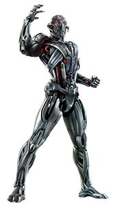 Ultron - the robotic villain, created by Tony Stark, in Avengers: Age of Ultron