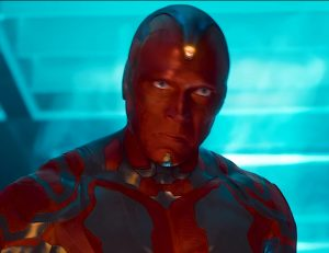 The Vision, the latest addititon to The Avengers
