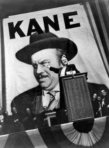 Citizen Kane Orson Welles 1941 Running For Governor