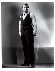Orson Welles performing Citizen Kane as a young man