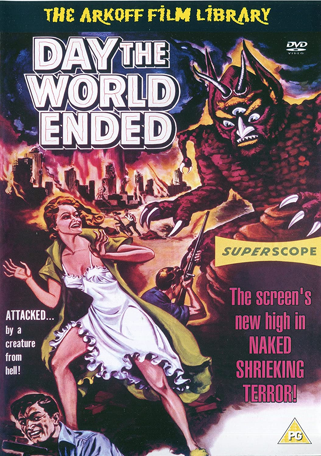 Day The World Ended (1955) starring Richard Denning, Lori Nelson, Mike Connors