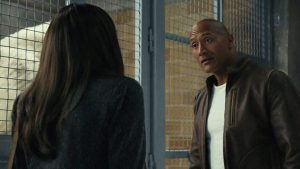"""About your people skills, Davis -- from Rampage, starring Dwayne """"The Rock"""" Johnson"""