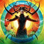 Hela godess of death, portrayed by Cate Blanchett in Thor Ragnarok
