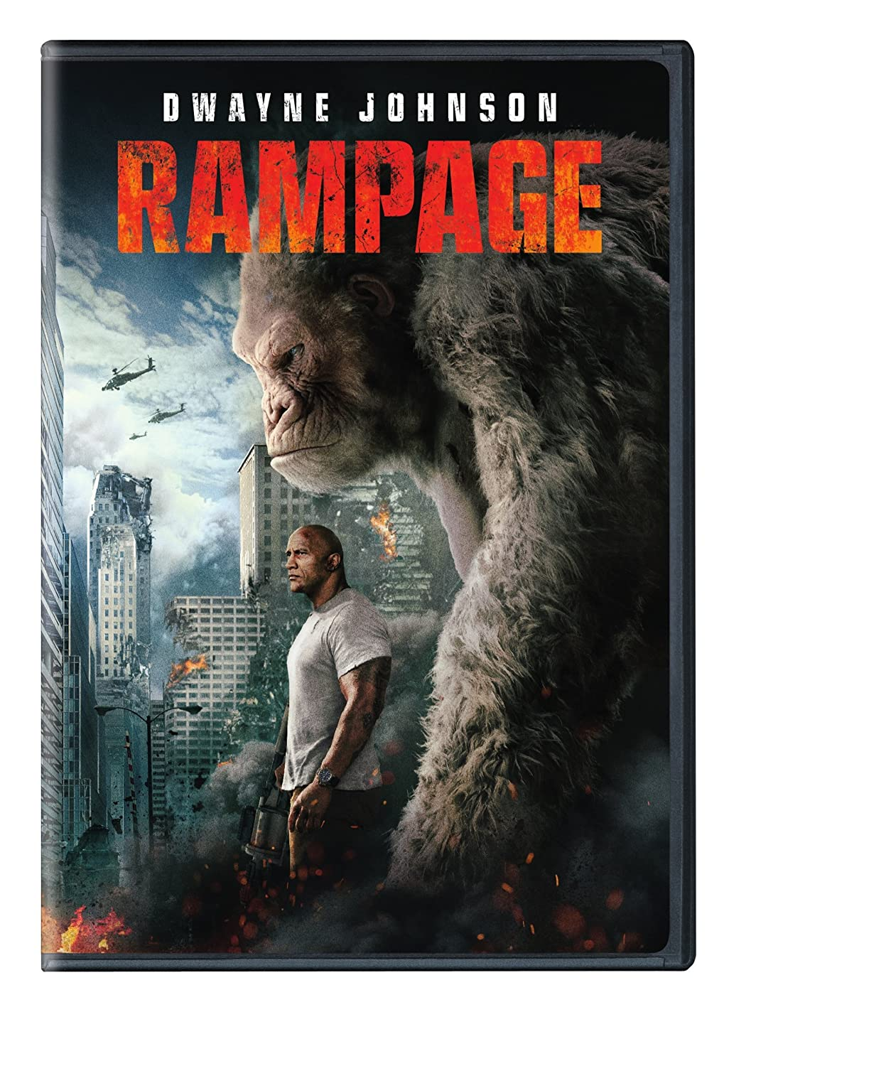 Rampage (2018) starring Dwayne Johnson, Naomie Harris, Jeffrey Dean Morgan