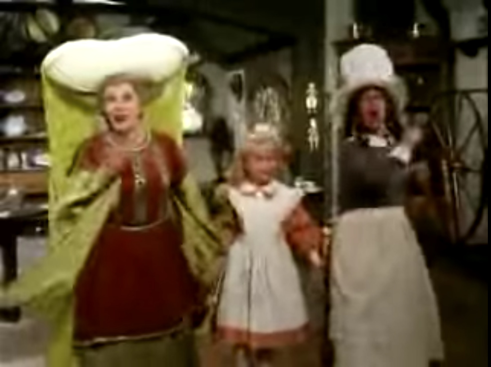 Song lyrics to There's Something to Say for Hatred, Music and Lyrics by Steve Allen, Performed by Martha Raye and Imogene Coca in Alice in Wonderland 1985