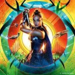 Tessa Thompson as Valkyrie, one of Odin's shield maidens, imprisoned on Sakaar for a long time.  And she doesn't care about anyone or anything except herself in Thor Ragnarok