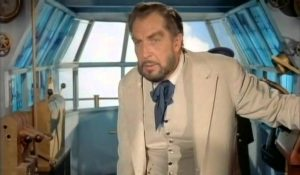 Vincent Price as Robar,self-proclaimed Master of the World