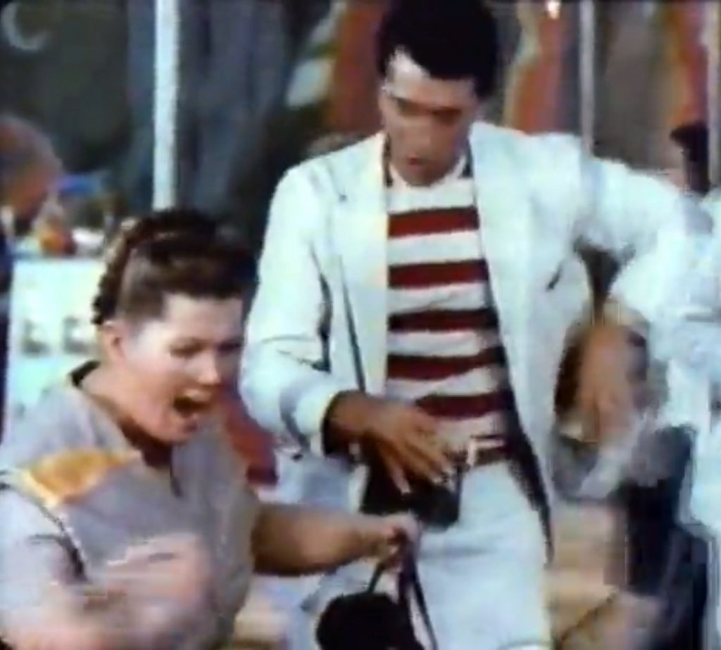 Custard disaster, with Kathleen Freeman and Dean Martin