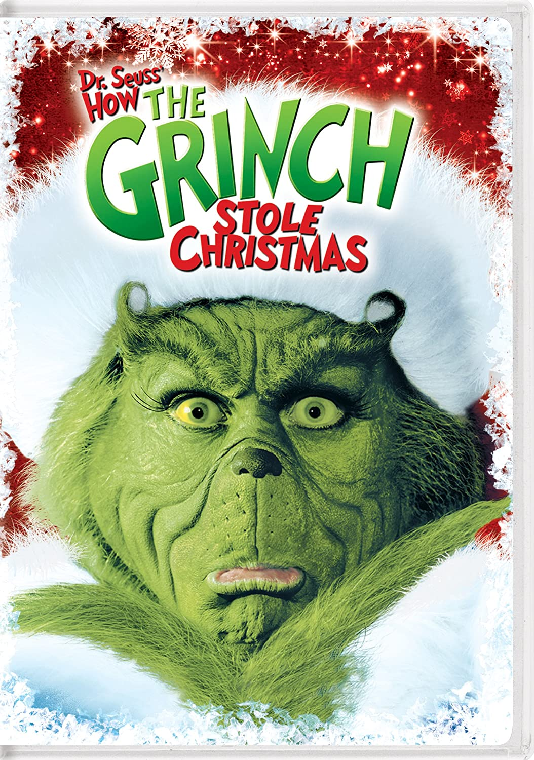 Dr. Seuss' How the Grinch Stole Christmas (2000) starring Jim Carrey,