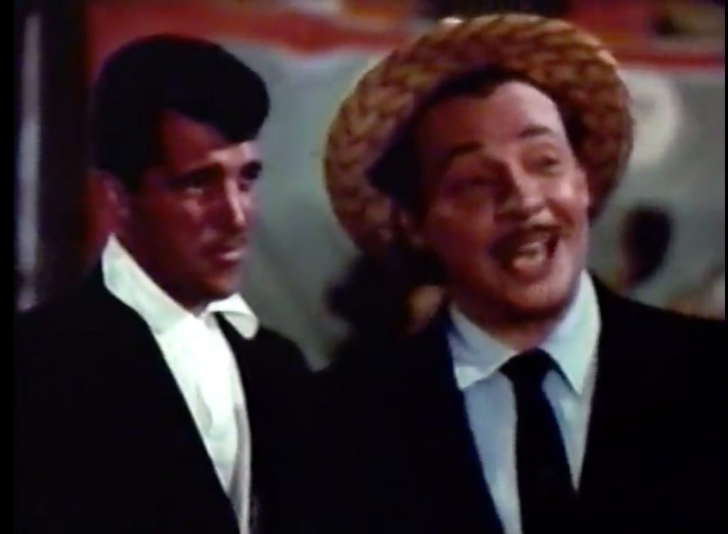 """Dean Martin tries to enforce """"honest gambling"""" on the midway in 3 Ring Circus"""