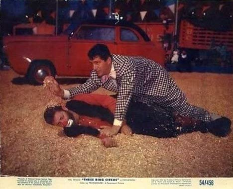 Dean Martin with Jericho (Jerry Lewis) in 3 Ring Circus