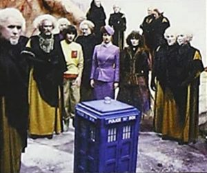 """The Master has succedded in """"cutting the Doctor down to size"""" in Logopolis"""