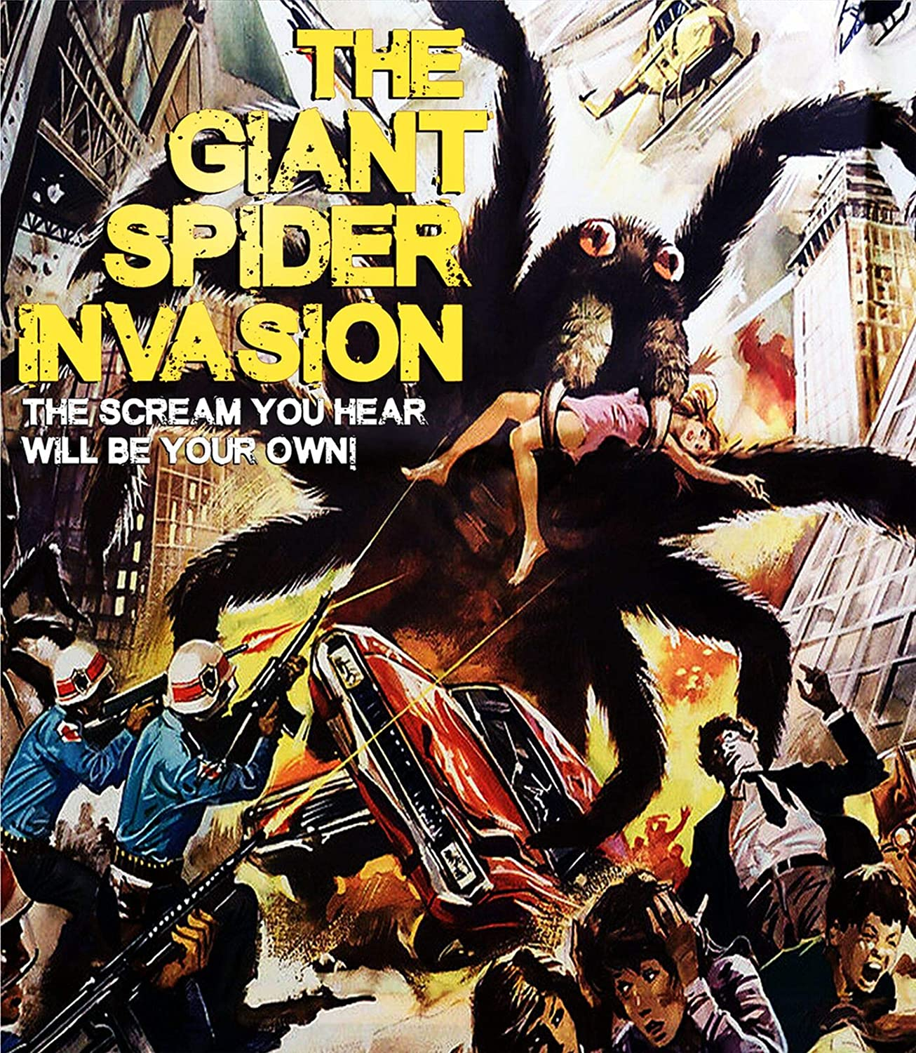 The Giant Spider Invasion (1975) starring Steve Brodie, Barbara Hale, Alan Hale Jr.