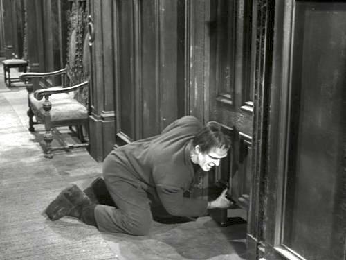 Eddie's Nickname - like a good father, Herman talks to his son Eddie through the door